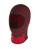 Thermoactive balaclava black-red, ce, lahti