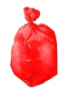 Trash bags, ldpe 120l red 10pcs roll, proline