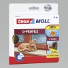 Rubber seal profile d 6m: 9mm, brown