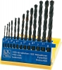 HSS twist drill set 13pcs, 2-8mm