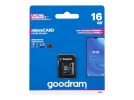 66-240# Karta micro-SD HC 16GB + adapter SD