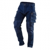 Working trousers DENIM, knee reinforcements, size S