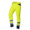 Hi Visibility trousers 40% polyester, 60% cotton, 260 gsm, size S