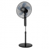 Floor fan 45W, diam. 40 cm, 3 speeds, oscillation, remote control