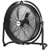 Fan, 100W air circulator, diameter 50 cm, IP44, 3 airflow speeds, position adjustment