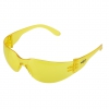 Safety glasses, yellow lenses, resistance class F