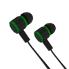 EGH201G Esperanza gaming earphones with microphone viper black-green