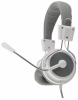 EH154W Esperanza stereo ehadphones with microphone eagle white