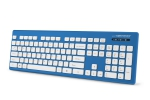 EK130B Esperanza waterproof wired usb keyboard singapore blue