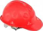 Safety helmet, red, cat. ii, ce, lahti