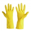 "Gloves latex household yellow, card, ""9"", ce, lahti"