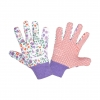 "Gloves dotted violet l240509p, card, ""9"", ce, lahti"