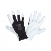 "Gloves goat leather black l271611p, card, ""11"", ce, lahti"