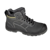 "Ankle shoes, nubuck, black-yellow, s3 src, ""42"", ce, lahti"
