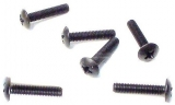 Flat head cross tapping screw4*25(6P)