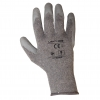 "Gloves latex grey l210308p, card, ""8"", ce, lahti"