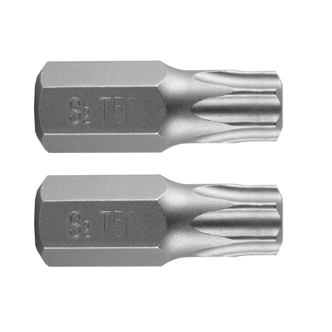 TORX T50 x 30 mm, S2 x 2 tk.