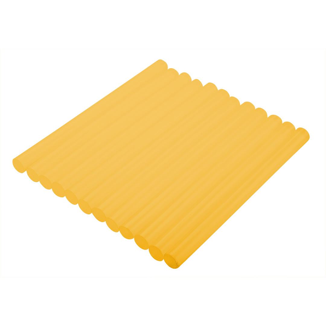Liimipulgad 11 mm, kollane, 12 tk.